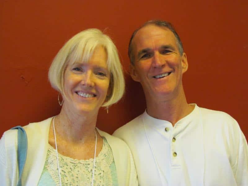Tom and Vicky Hall