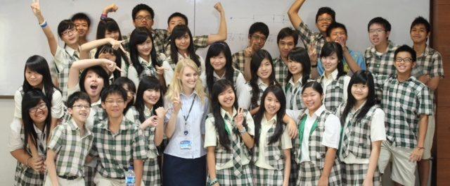 How do I find teaching jobs overseas?